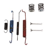 Rear Drum Brake Springs & Hardware Set 93-99 VW Jetta Golf Cabrio MK3 - Genuine