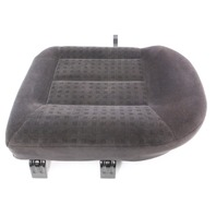 LH Rear Back Seat Cushion & Cover Charcoal  01-05 VW Jetta Wagon MK4