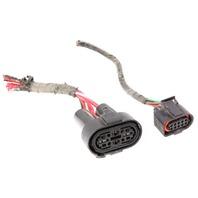 Cooling Fan Module Pigtails Plugs Connectors 99-01 VW Beetle Jetta Golf GTI Mk4