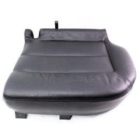 LH Rear Lower Seat Cushion & Cover 01-05 VW Passat Wagon - Black Leather