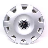 "Genuine Hubcap Hub Cap Wheel Cover 15"" 99-05 VW Jetta Golf MK4 - 1J0 601 147 N"