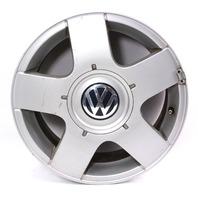 "One 15"" x 6"" Avus Alloy Wheel Rim - VW Jetta Golf MK4 - Genuine - 1J0 601 025 B"