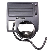 LH Driver Dash Vent Headlight Trim 99-05 VW Jetta MK4 - Genuine - 1J1 819 703 D
