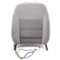 RH Front Seat Back Rest & Side Airbag Grey 99-05 VW Jetta Golf MK4