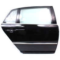 RH Rear Door Shell Assembly 04-06 VW Phaeton - L041 Black - Genuine