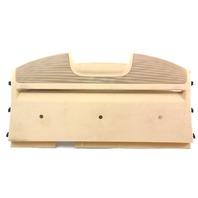 Rear Window Deck Shelf Cargo Tray 04-06 VW Phaeton - Beige Tan - 3D5 863 413 DA
