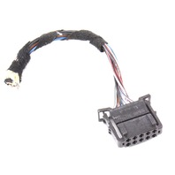 LH Outer Tail Light Lamp Plug Pigtail Wiring 04-06 VW Phaeton - 6Q0 972 725
