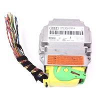 Air Bag Computer Module & Connector Plug Pigtail Audi A3 - As-Is - 8P0 959 655 A