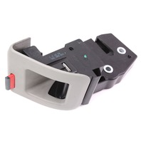 RH Rear Seat Fold Latch Lock Button 06-13 Audi A3 - Gray - 1K0 885 682 F