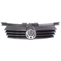 Front Radiator Upper Grill 99-05 VW Jetta MK4 - Genuine Grille - L041 - Black