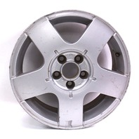 "One 15"" x 6"" Avus Alloy Wheel Rim - VW Jetta Golf MK4 - Genuine - 1J0 601 025 B"
