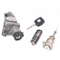 Ignition Lock Set Key Door Handle Trunk 98-01 VW Passat B5 - 4B0 905 851