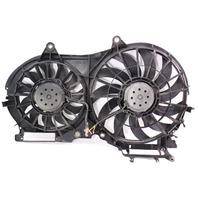 Electric Cooling Fans 02-03 Audi A6 C5 - 3.0 V6 AVK - Genuine - 4B0 121 205 C