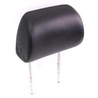 RH Passenger Front Seat Head Rest Headrest - Black Leather 06-10 VW Passat B6