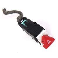 Hazard Switch Button & Plug Pigtail 06-10 VW Passat B6 - Genuine - 3C0 953 509