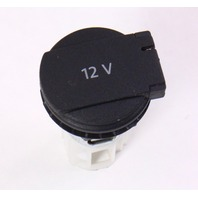 12V Trunk Power Outlet Lighter Socket 06-10 VW Passat B6 - Genuine - 1J0 919 309