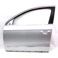 LH Front Door Shell 06-10 VW Passat B6 LA7W - Reflex Silver - Genuine