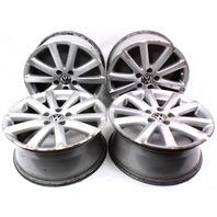 """Set of Wheels Rims Alloy BBS 17"""" 5x112 Audi A4 A6 VW Passat B6 Stock"""