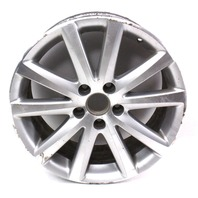"One Stock Wheel Rim Alloy BBS 17"" 5x112 06-10 VW Passat B6 - 3C0 601 025 J"