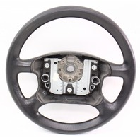 Black Rubber Steering Wheel 99-05 VW Passat B5 Jetta Golf Mk4 - Genuine