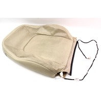 RH Front Seat Upper Back Rest Cover 04-10 VW Beetle - Beige Leather - Genuine