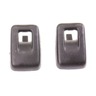 Child Seat Restraint Attachment Bracket Hooks Pair 06-13 Audi A3 - 443 887 301 C
