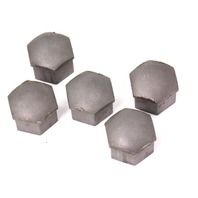 5x Lug Nut Bolt Cap Covers Set 06-13 Audi A3 - Genuine - 321 601 173 A