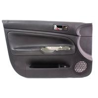 Driver Front Black Leather Door Panel Card 98-05 VW Passat B5 - Genuine