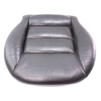LH Driver Front Seat Cushion & Cover 98-01 VW Passat B5 - Heated Black Leather