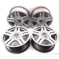"Set Of Stock Speedline Wheels Rims Alloy 16"" 5x112 VW Passat B5 - 3B0 601 025 G"