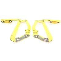 Hood Hinges Pair 98-10 VW Beetle - LD1B Yellow - Genuine - 1C0 823 301 F & 302 F