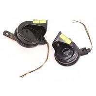 Bosch High & Low Tone Horn Set 99-05 VW Jetta Golf GTI MK4 W/ Brackets & Wiring
