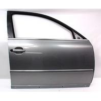 RH Front Door Shell Skin 01-05 VW Passat B5.5 - LD7W - Silverstone Gray