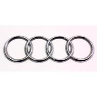 Trunk Rings Emblem Badge - 96-02 Audi A4 S4 B5 - Genuine