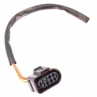Head Light Lamp Plug PIgtail Connector Halogen 99-02 Audi A4 B5 - 8D0 973 734