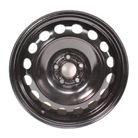 "16"" x 6.5 Spare Steel Wheel 99-05 VW Jetta Golf Beetle Mk4 ~ 1J0 601 027 C"