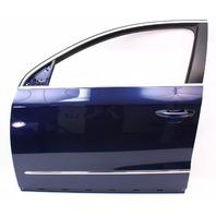 LH Front Door Shell 06-10 VW Passat B6 LD5Q - Shadow Blue - Genuine