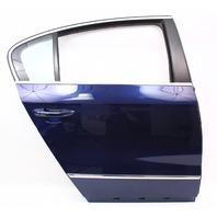 RH Rear Door Shell 06-10 VW Passat B6 LD5Q - Shadow Blue - Genuine