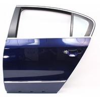 LH Rear Door Shell 06-10 VW Passat B6 - LD5Q Shadow Blue - Genuine