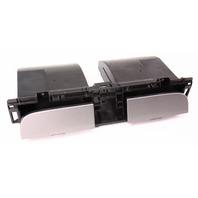 Center Dash Cubby Drawers Trim - 06-10 VW Passat B6 - 3C0 858 407