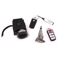Ignition Lock Set & Key Fob Remote 06-10 VW Passat B6 - Genuine - 3C0 905 843 P