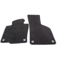 Black Carpet Floor Mats 06-10 VW Passat B6 - Genuine - 3C1 863 011 A UCV