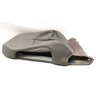 RH Front Seat Back Rest Cover Audi A4 02-05 B6 - Grey Vinyl - Genuine
