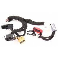 AC Climate Temp Controls Wiring Pigtail Plugs 2002 Audi A4 B6 - Genuine