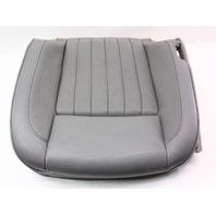 RH Front Grey Leather Seat Cushion & Cover 04-06 VW Phaeton - Genuine