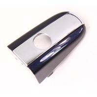 Door Handle Lock Key Hole Trim Cap 04-06 VW Phaeton - LR5W Blue - 3D4 839 875