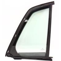 RH Rear Small Quarter Door Side Window Glass 04-06 VW Phaeton - Genuine