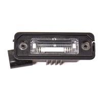 License Plate Lights Lens & Housing 04-06 VW Phaeton - Genuine - 3D0 943 021 A