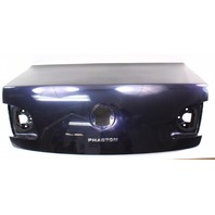 Trunk Deck Lid Boot 04-06 VW Phaeton - LR5W Luna Blue - Genuine - 3D5 827 173 C