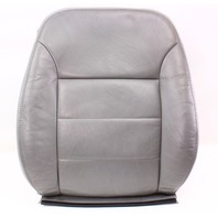 RH Front Seat Back Rest Cover & Foam 99-05 VW Jetta MK4 - Heated Grey Leather